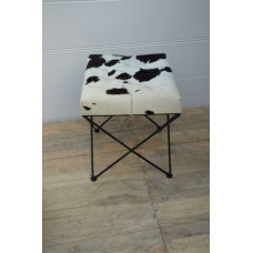 stool leather cowskin
