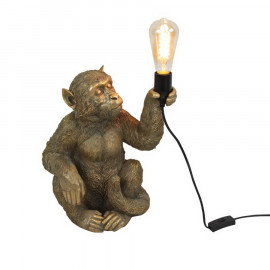 table lamp monkey
