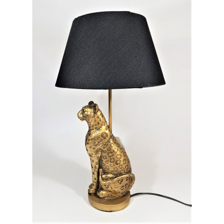 table lamp leopard