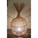 rattan lamp nature ball