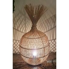 Lamp rotan naturel bol