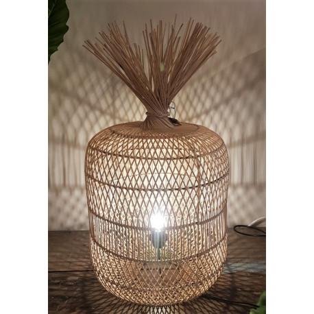 rattan lamp naturecilinder