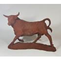bull in cast iron