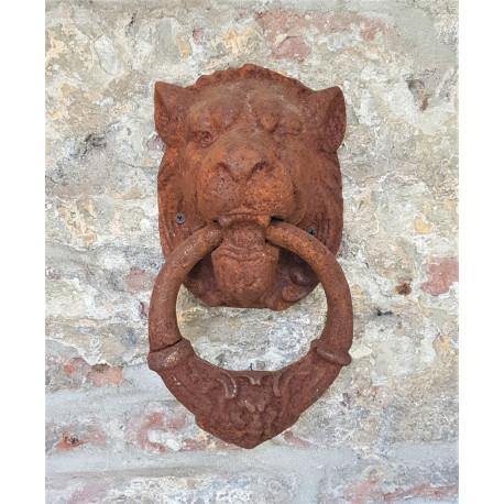 doorknocker lion