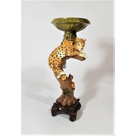 kandelaar leopard & tree