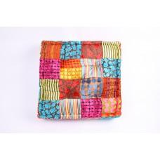Vloerkussen patchwork multicolour