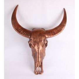 Koperen Bull Wanddeco