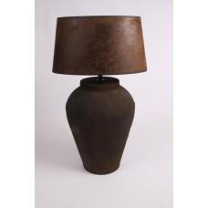 Tafellamp roestbruin BACENO