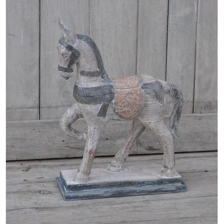 Paard beeldje mangohout