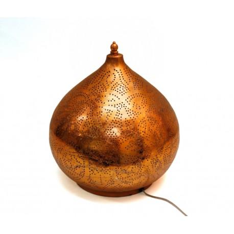 Filigrain tafellamp metaal copper