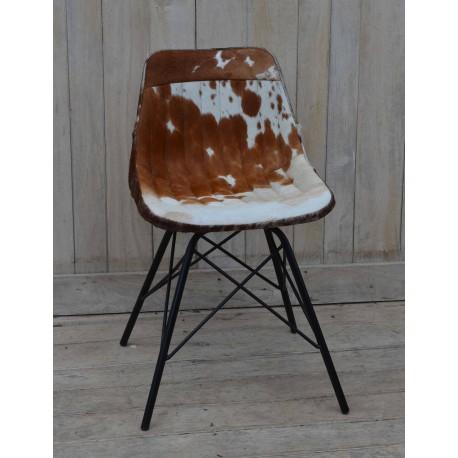 chair cowskin
