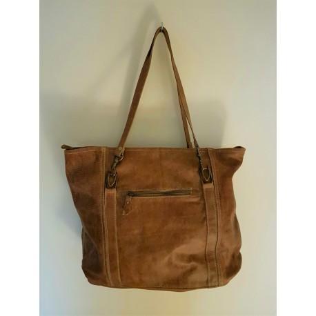 Shopper tas brown