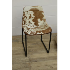 Butterfly chair cowskin