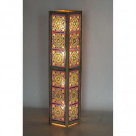 Vloerlamp mozaïek multicolour