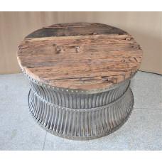 Salontafel hout-metaal