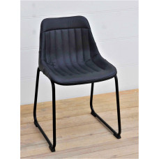 chair black leather