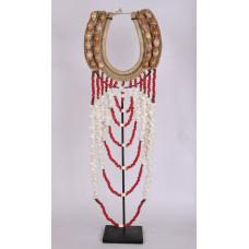 Decoratieve inheemse kraag