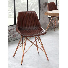 chair brown-copper