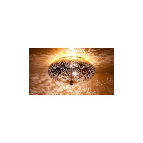 Plafonniere filigrain gold