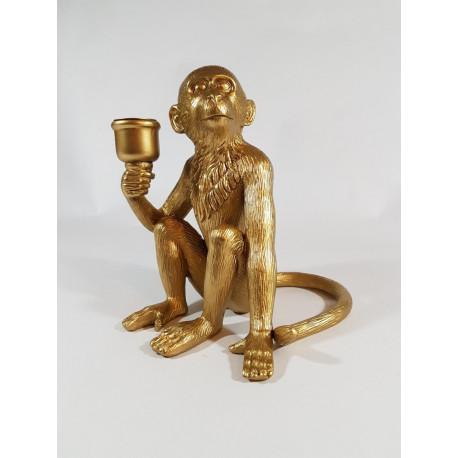 candleholder monkey