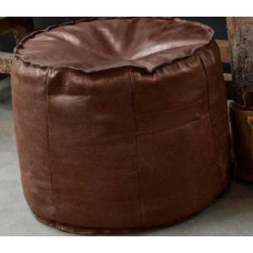 Hocker leather