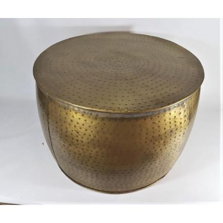 Bijzettafel vintage goud