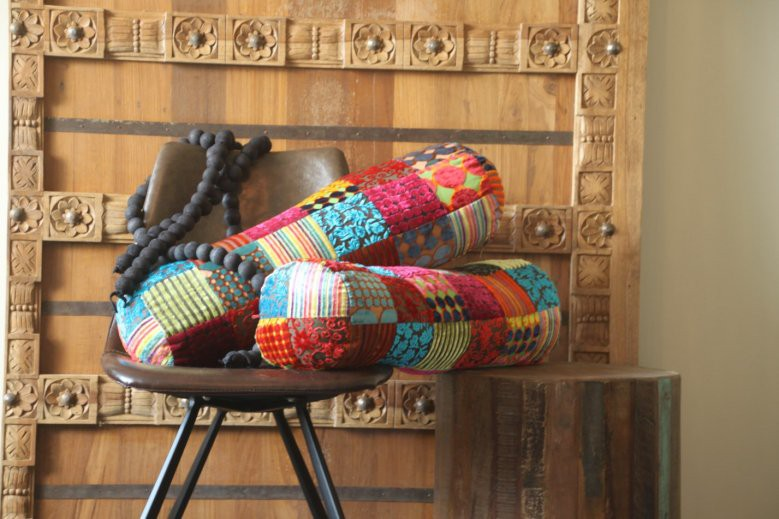 Multicolor patchwork